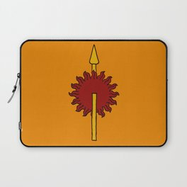 Unbowed Unbent Unbroken Laptop Sleeve