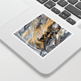 Gold Vein Marble Sticker