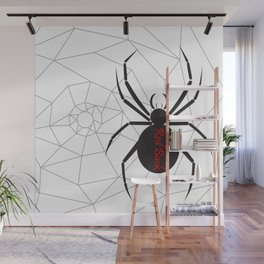 Beware the Red Back Spider from Down Under, not for the faint hearted. Wall Mural