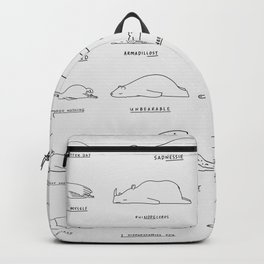 Moody Animals Pattern Backpack