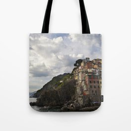A taste of color and culture in Cinque Terre Tote Bag