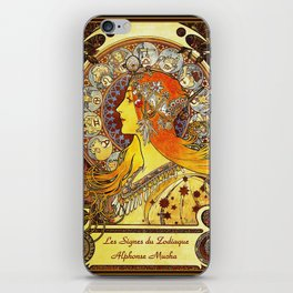 The Signs of the Zodiac iPhone Skin