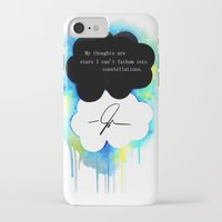 fault in our stars iPhone & iPod Cases featuring The Fault in Our Stars by Awful Artist