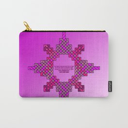 Violet Lantern Symbol & Oath Carry-All Pouch