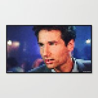 "mulder Canvas Prints featuring MULDER by ""Neverodd Inks"""