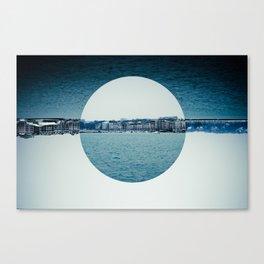 Geneva Circles Canvas Print