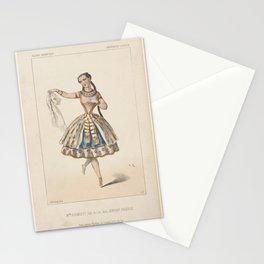 Plunkett Adeline  Melle Plumkett sic role de Lia dans Lenfant prodigue Theatre de lOperaAdditional Enfant prodigue Stationery Cards