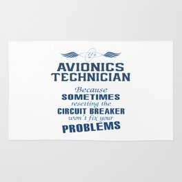 Avionics Technician Rug