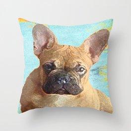 The Cruz-Man Throw Pillow