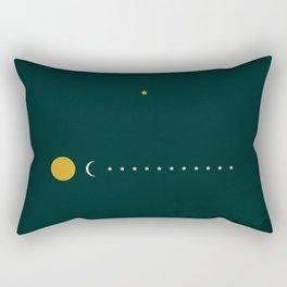 Genesis 37:9 Rectangular Pillow