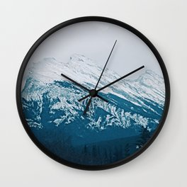 Mt. Rundle Wall Clock