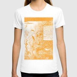 Catalogusomslag met pad en libelle (1897) print in high resolution by Theo van Hoytema T-shirt