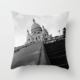Sacre Coeur NO1 Throw Pillow