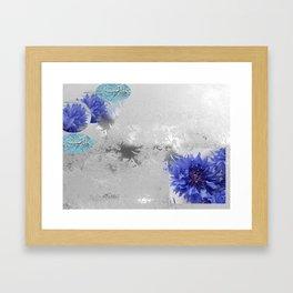 iceflowers Framed Art Print