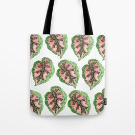 Begonia Leaf Pattern Tote Bag