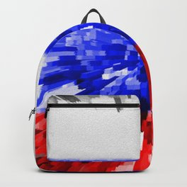 Extruded Flag of Russia Backpack