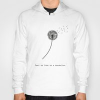 xbox Hoodies featuring Feel as free as a dandelion by eARTh
