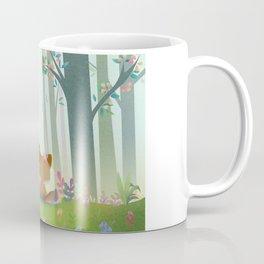 Spring Fox Coffee Mug
