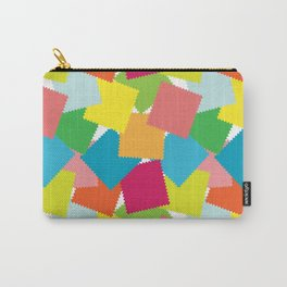 Seamless patchwork pattern Carry-All Pouch