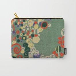 "Gustav Klimt ""Textile design - Model 8"" Carry-All Pouch"