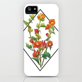 Emory Desert Mallow iPhone Case