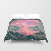 soul Duvet Covers featuring Ruptured Soul  by soaring anchor designs