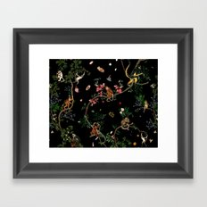 Monkey World Framed Art Print