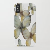 craftberrybush iPhone & iPod Cases featuring Fall Butterfly by craftberrybush
