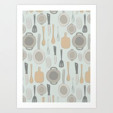 kitchen Art Print
