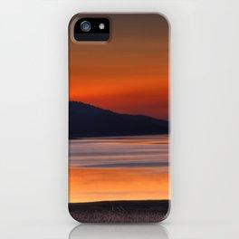 Lake Sherburne iPhone Case