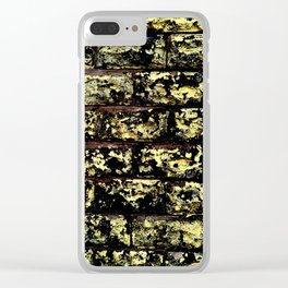 Tainted Wall Clear iPhone Case