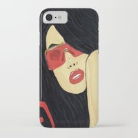 aaliyah iPhone & iPod Cases featuring AAliyah by TheArtGoon