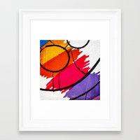 clown Framed Art Prints featuring Clown by Alexandre Reis