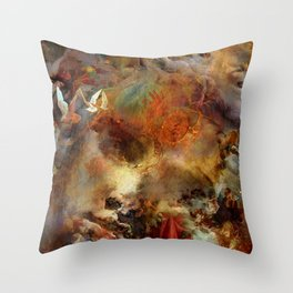 Melody for an unfinished dream Throw Pillow