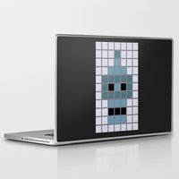 bender Laptop & iPad Skins featuring Bender Was Here by BC Arts