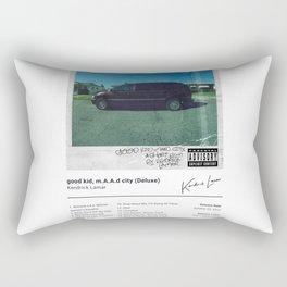 Kendrick Lamar - good kid, m.A.A.d city (Deluxe) - Album Art Rectangular Pillow