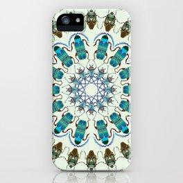 Entomology art iPhone Case
