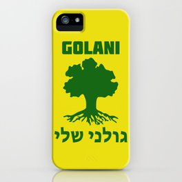 Israel Defense Forces - Golani Warrior iPhone Case