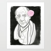picasso Art Prints featuring Picasso by DonCarlos