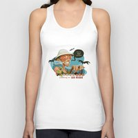 fear and loathing Tank Tops featuring Fear and Loathing in Las Vegas by Danilo Fiocco