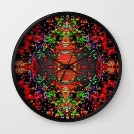 Energy Flow Wall Clock