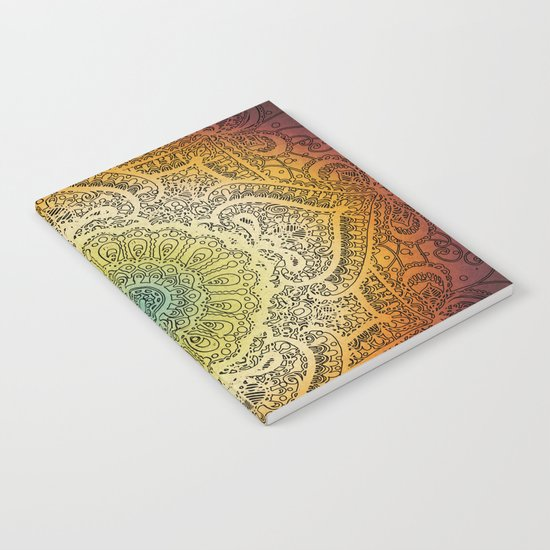 Bohemian Lace Notebook