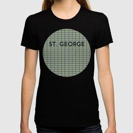 ST. GEORGE   Subway Station T-shirt