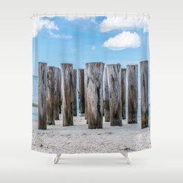 Pilar Beach Shower Curtain