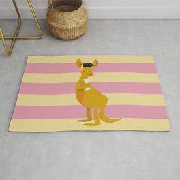 College Kangaroo Rug