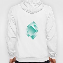 green color energy labyrinth Hoody