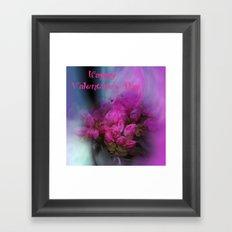 Valentine -15- Framed Art Print