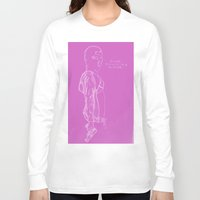 vampire weekend Long Sleeve T-shirts featuring Spring Breakers/Vampire Weekend (Pink) by Blake Holland