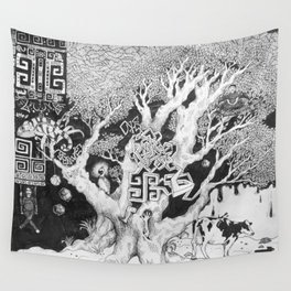 Surreal Tree Wall Tapestry