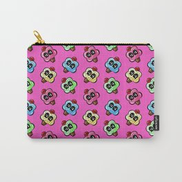 Cupcake With A Cherry On Top Pattern Pink Carry-All Pouch